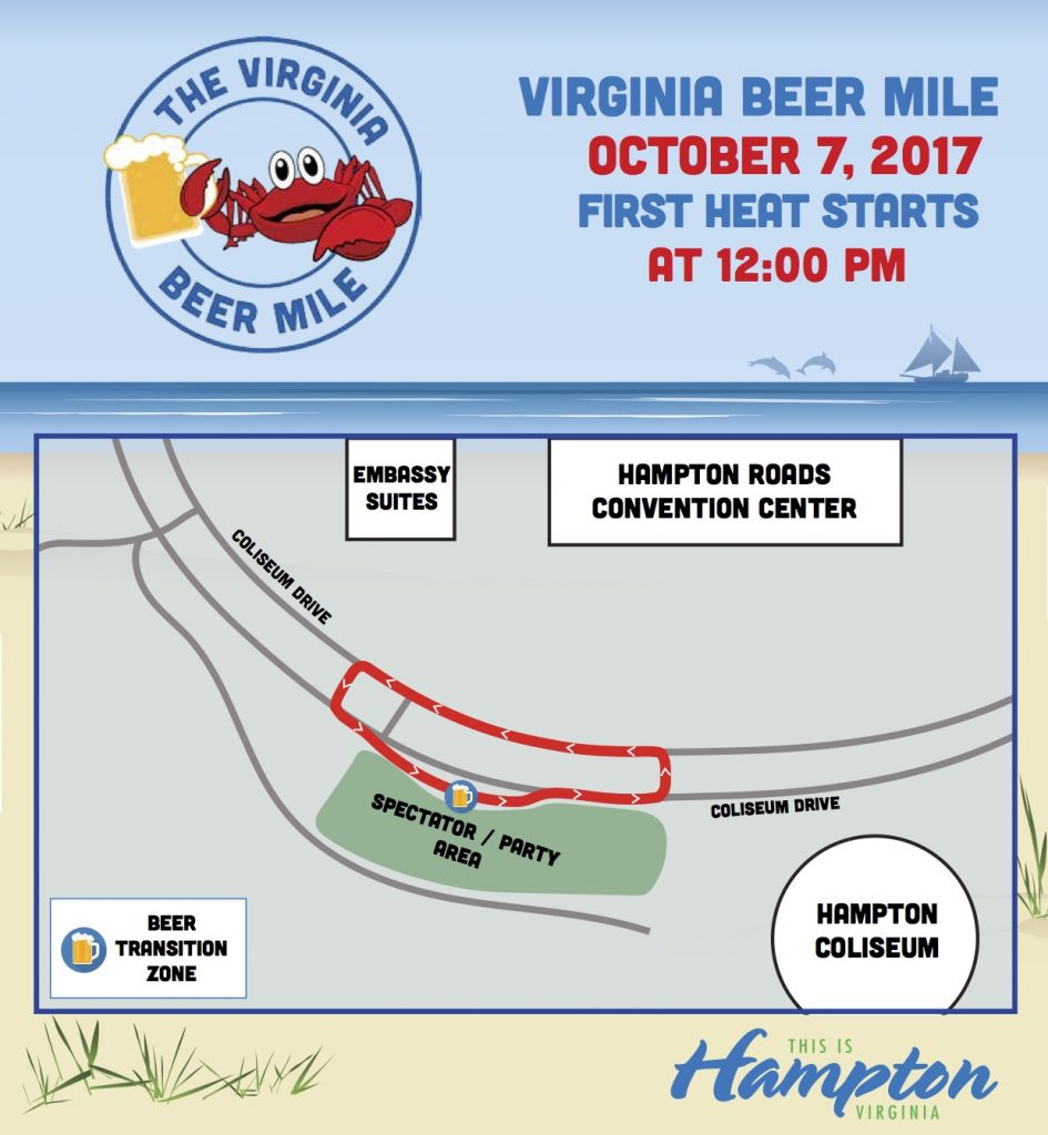 2017Crawlin-Crab-Beer-Mile-Course-Map